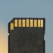 SD Card — Stock Photo