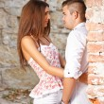 Attractive couple — Stock Photo