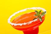 Watermelon margarita — Stock Photo