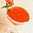 Watermelon martini drink — Stock Photo