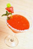 Watermelon martini drink — Stock Photo