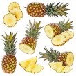 Set of pineapple — Stock Photo #12227189