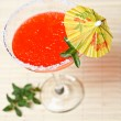 Stock Photo: Watermelon martini