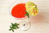 Watermelon martini — Stock Photo