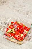 Tomato salad — Stock Photo