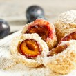 Plum dumplings - Foto Stock