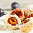 Plum dumplings - Stockfoto