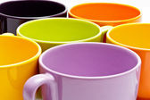Set of coffee cups — Stock Photo