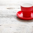 Red cup coffee — Stock Photo #13334109