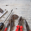 Stock Photo: Different tools