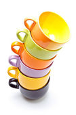 Color cups — Stock Photo