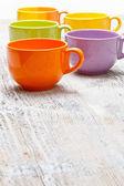 Tea or coffee cups — Stock Photo