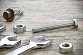 Wrench set — Stock Photo
