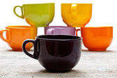 Filiżanki kawy — Zdjęcie stockowe