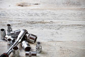 Socket spanner wrench — Stock Photo