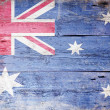 Australian National Flag — Stock fotografie