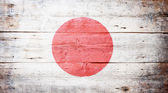 Flag of Japan — Stock Photo