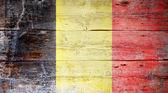 比利时的旗子 — 图库照片