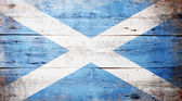 苏格兰的旗帜 — 图库照片