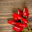 piments rouges chauds — Photo #13606999