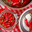 Chili peppers — Stock Photo #13607012