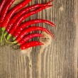Red hot chili peppers — Stockfoto #13607039