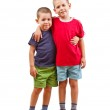 Two child brothers — Stock Photo