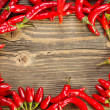 Frame from peppers — Stock Photo #13647304