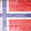 Flag of Norway — Foto Stock