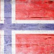 Flag of Norway — Lizenzfreies Foto