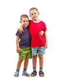 Två barn bröder — Stockfoto