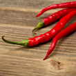 Red hot chili peppers — Stockfoto #13725628