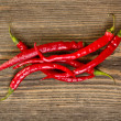Red hot chilli peppers — Stock Photo #13725652