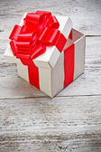 Open present box — Foto de Stock
