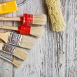 Paint brushes — Stock Photo