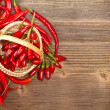 Red peppers — Stock Photo #13869144
