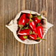 Red peppers — Stock Photo #14036083