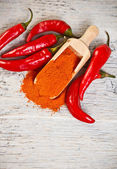Milled red chili pepper — Stock Photo