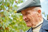 Retrato de um homem idoso — Fotografia Stock
