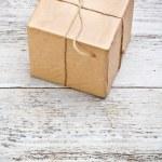 Wrapped box — Stock Photo