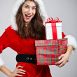 Christmas woman — Stock Photo #14340125