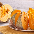 Raw pumpkin — Stock Photo