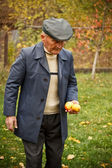 Portrait of old man — Stock Photo
