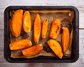 Roasted pumpkin — Stock Photo