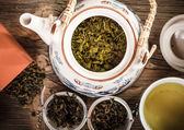 Bule de chá — Foto Stock