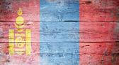 Vlag van mongolië — Stockfoto