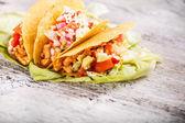 Corn tortilla — Stock Photo