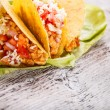 taco shells — Stock Photo