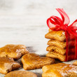 Christmas gingerbread cookies — Foto de Stock