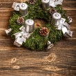 Advent wreath — Stock Photo #16964023